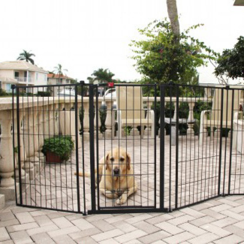 Extra Tall Super Gate Yard 0480 20299 Grain Valley Dog
