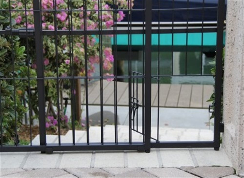 Extra Tall Expandable Arch Gate - Click Image to Close
