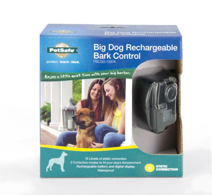 Big Dog Rechargeable Bark Control - Click Image to Close