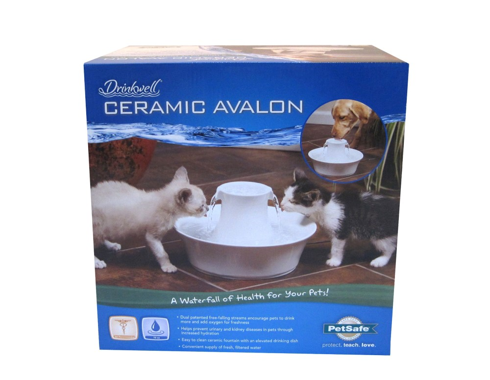 Avalon Ceramic Fountain - Click Image to Close