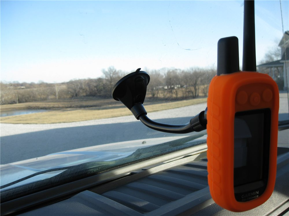 Window Mount for Garmin Astro or Alpha - Click Image to Close