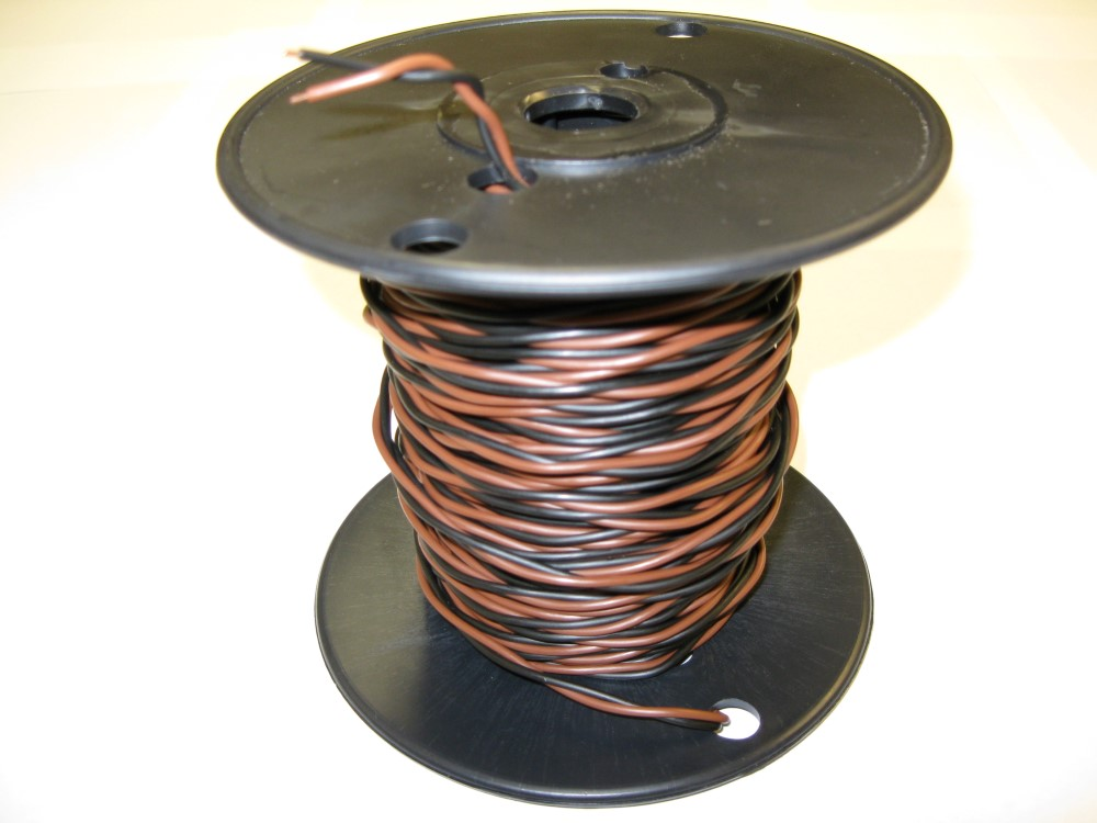 20-Gauge Pre-Twisted Boundary Wire - Click Image to Close