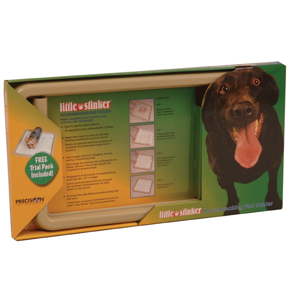 Little Stinker Housebreaking Pads - 100 Pack - Click Image to Close